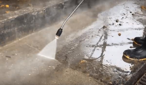Limpieza de aceras