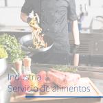 Industria servicio de alimentos